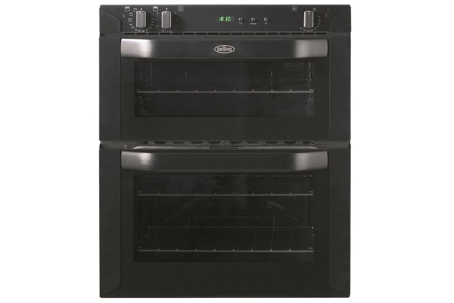 Belling Built-under Double Oven | BI700FPBLK