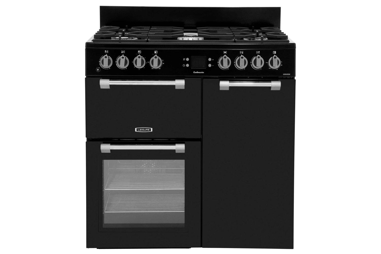 Leisure Cookmaster 90cm Dual Fuel Range Cooker | CK90F232K | Black