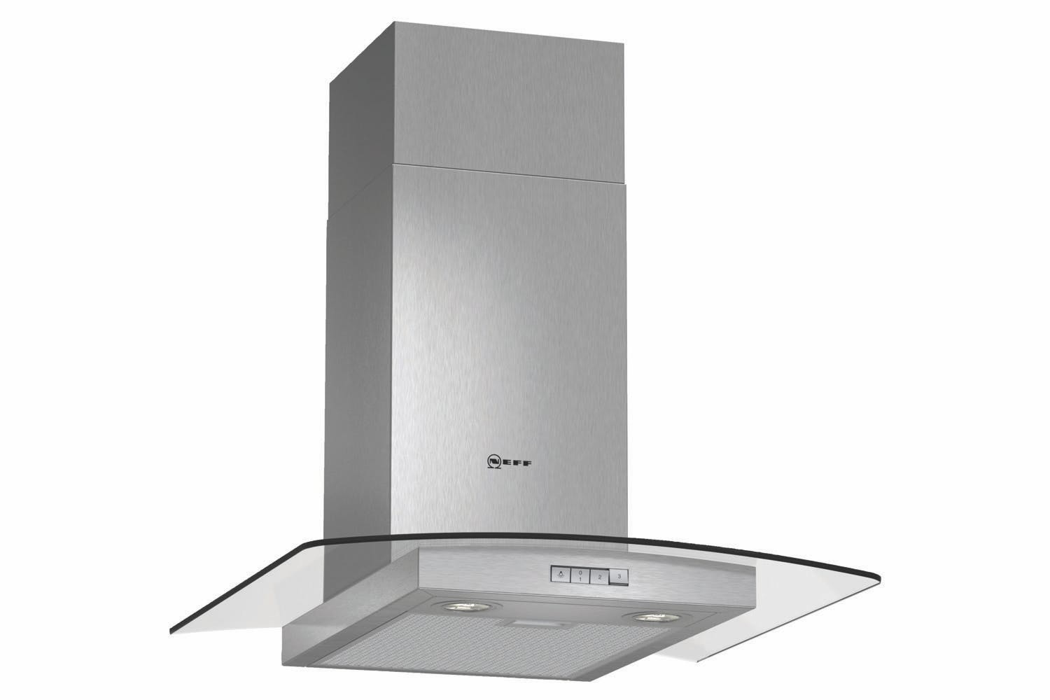 Neff 60cm Curved Chimney Hood | D86GR22N0B
