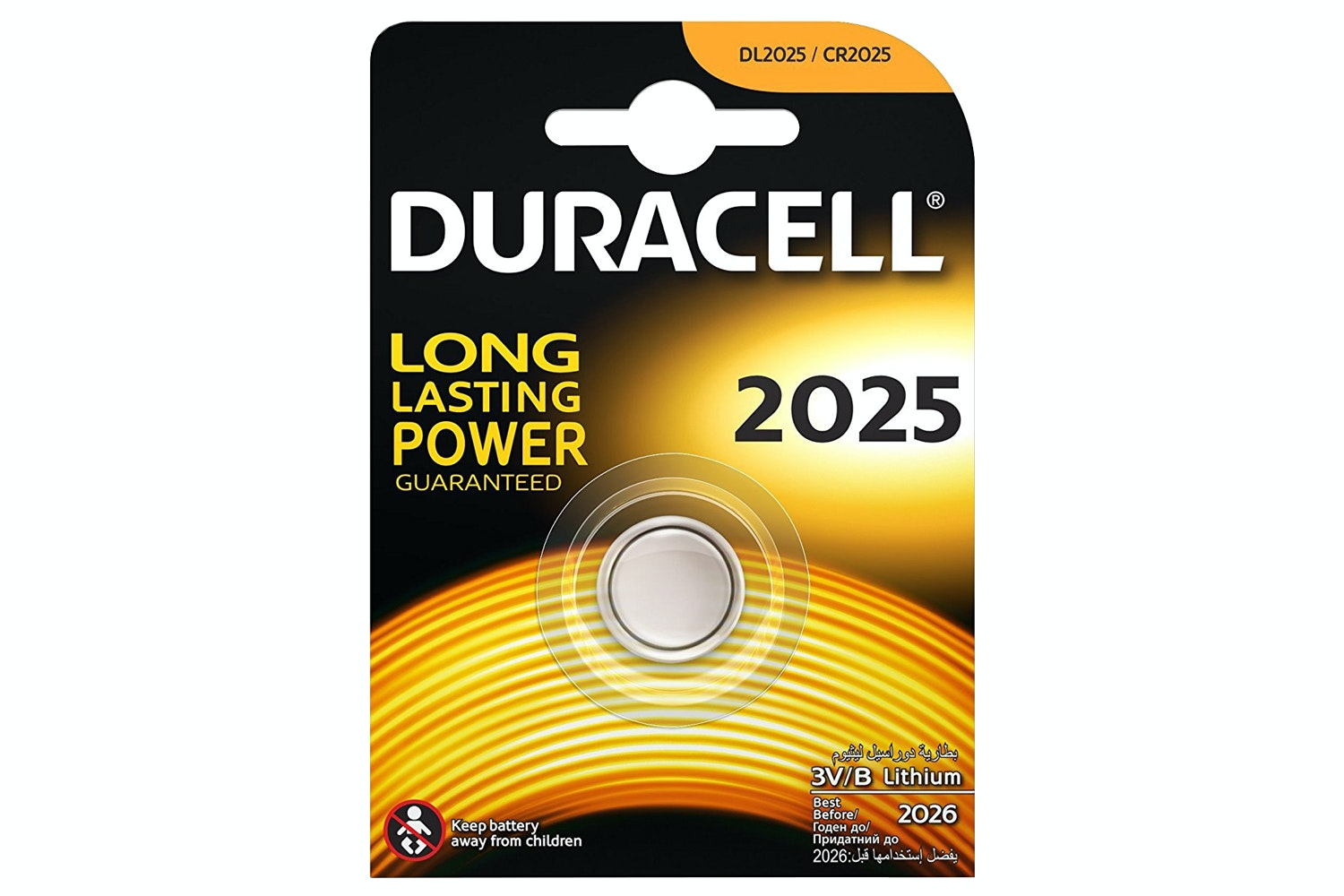 Duracell 2025 Lithium Coin Battery