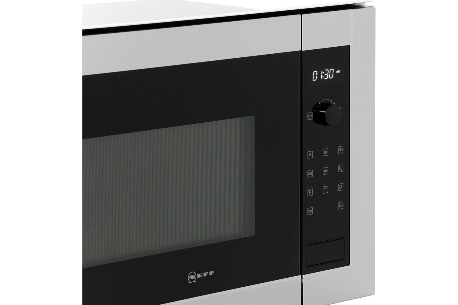 Neff 25L 900W Built In Microwave | H12GE60N0G | Stainless Steel & Black