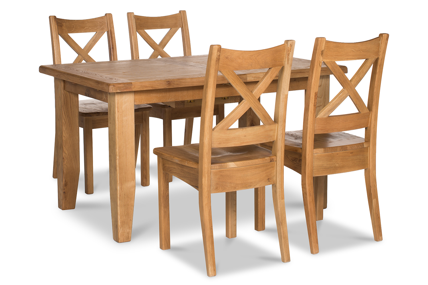 Tisbury Dining Set | 5 Piece | Oak | 140cm