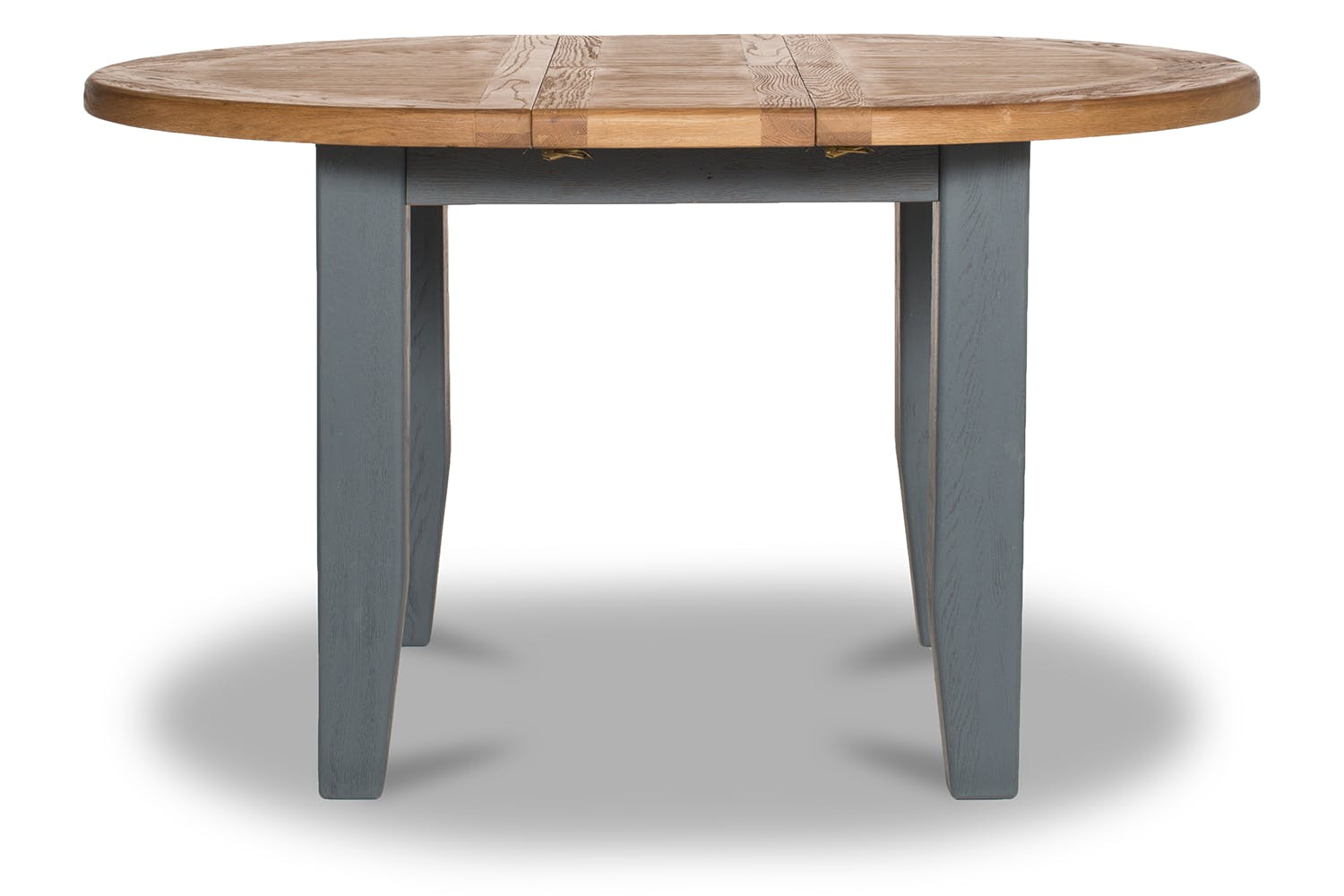 Tisbury Extended Dining Table Round Grey Ireland