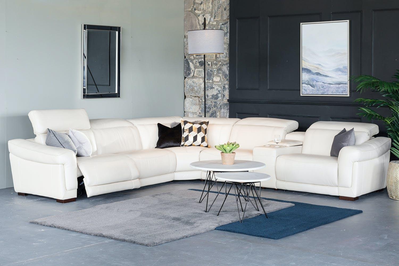 Sonny Electric Recliner Corner Sofa