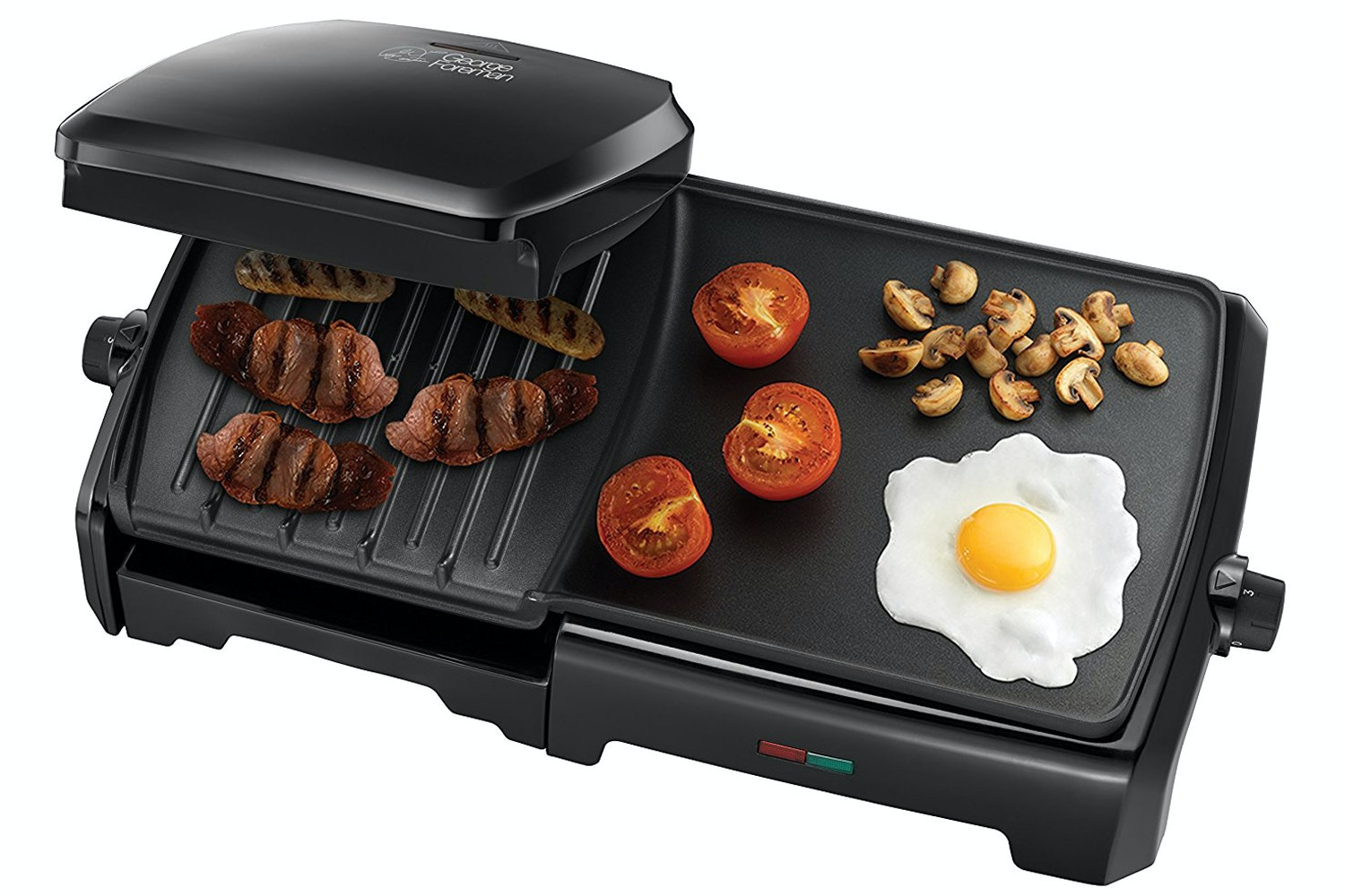 George Foreman Entertaining 10 Portion Grill and Griddle | 23450