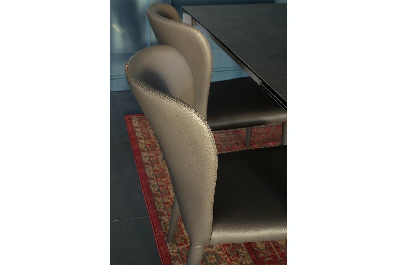 Aletta Dining Chair   Dark Grey