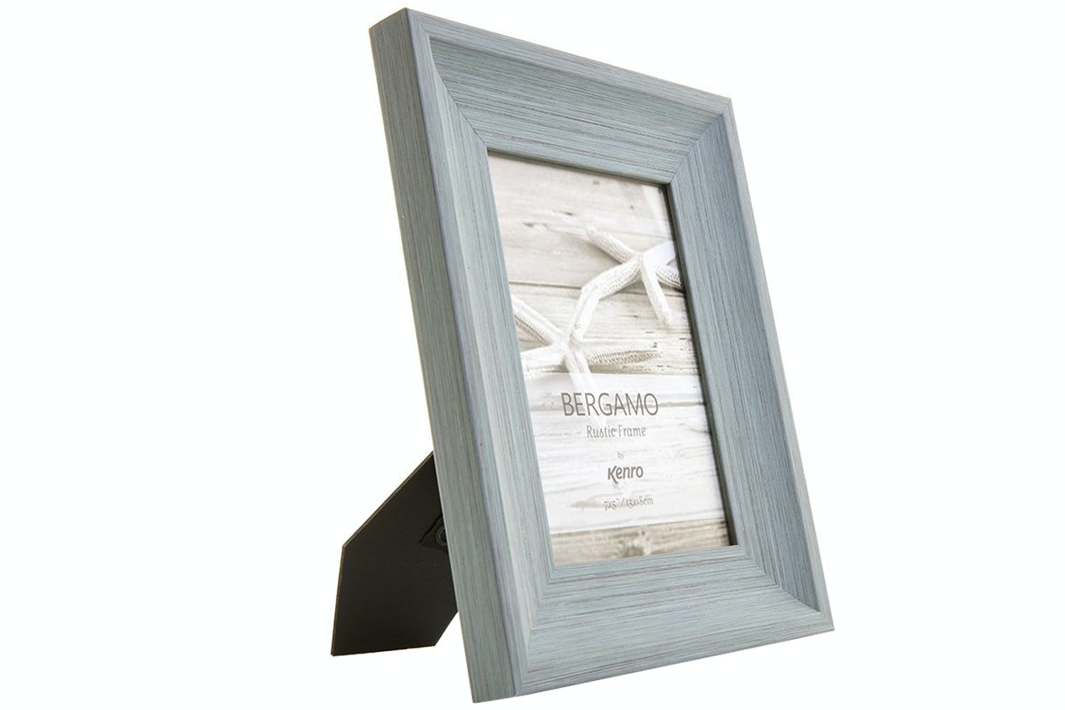 aaa436f3cb4f ... Kenro Bergamo Rustic Wood Photo Frame