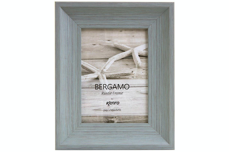 Kenro Bergamo Rustic Wood Photo Frame | 8x6\