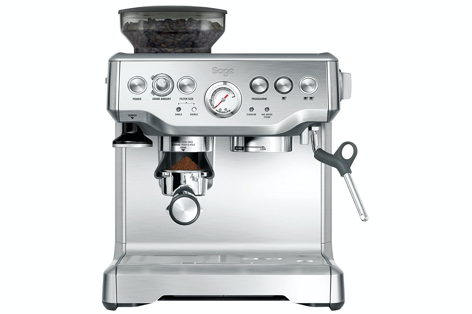 Sage Barista Express Coffee Machine | Stainless Steel