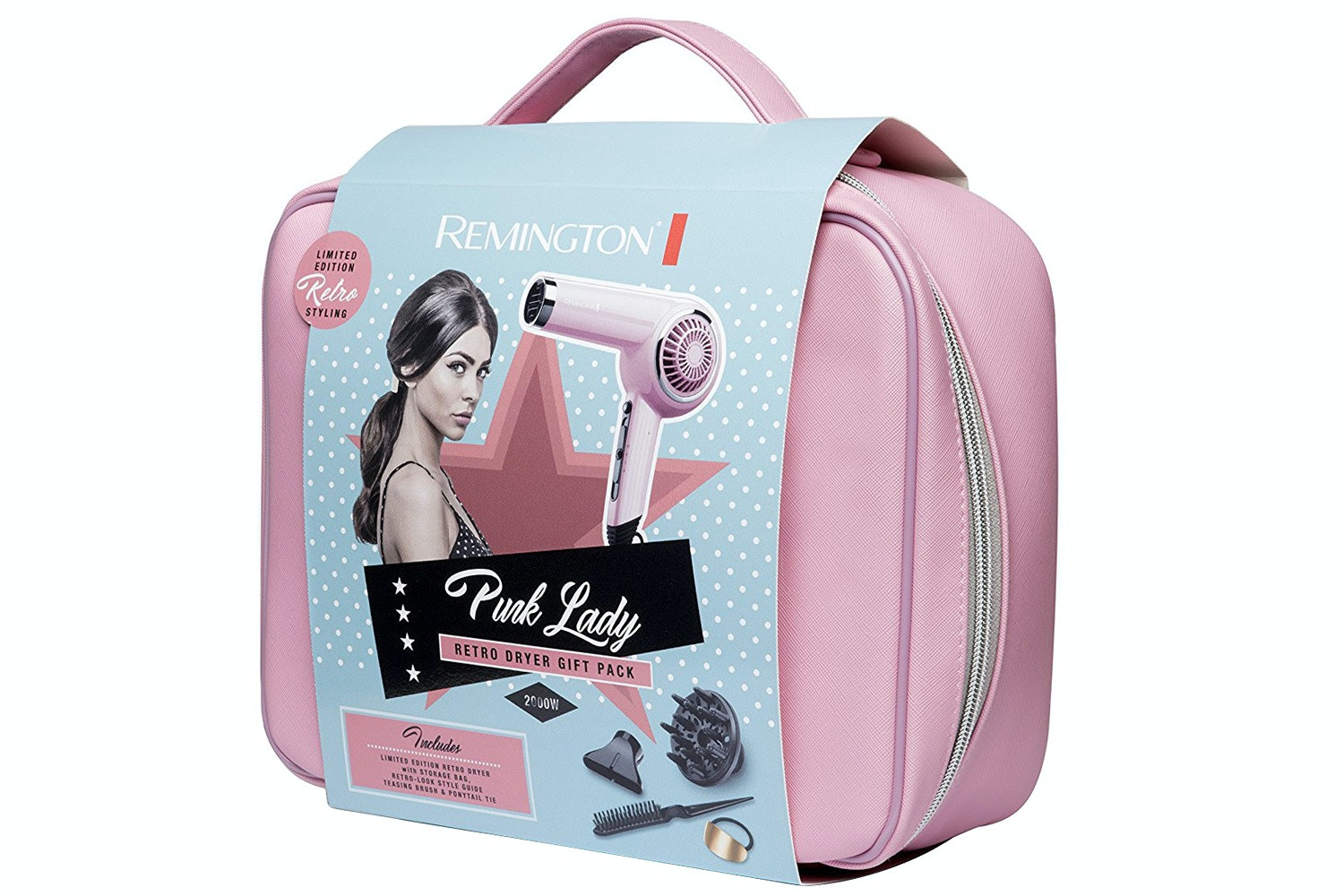 Remington Pink Lady Retro Hair Dryer | D4110OP