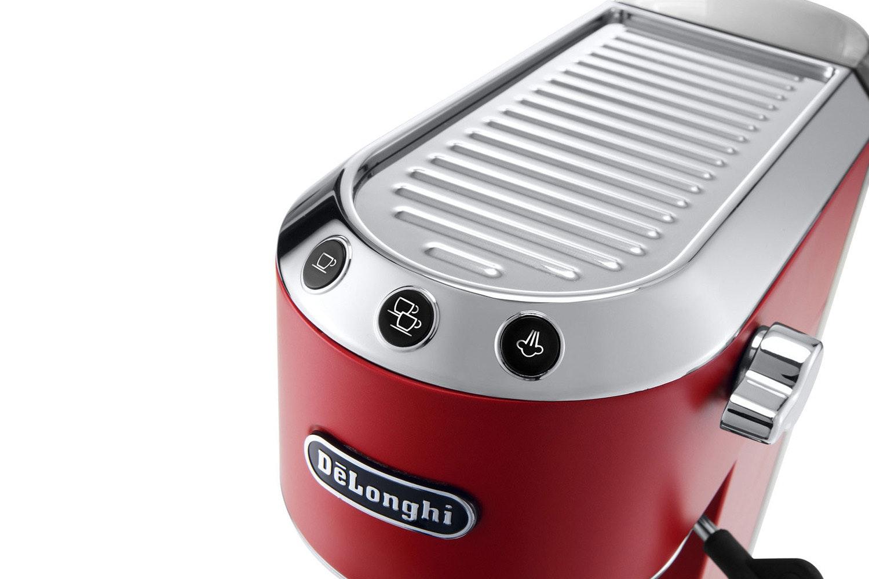DeLonghi Dedica Espresso Coffee Machine | EC685.R | Red