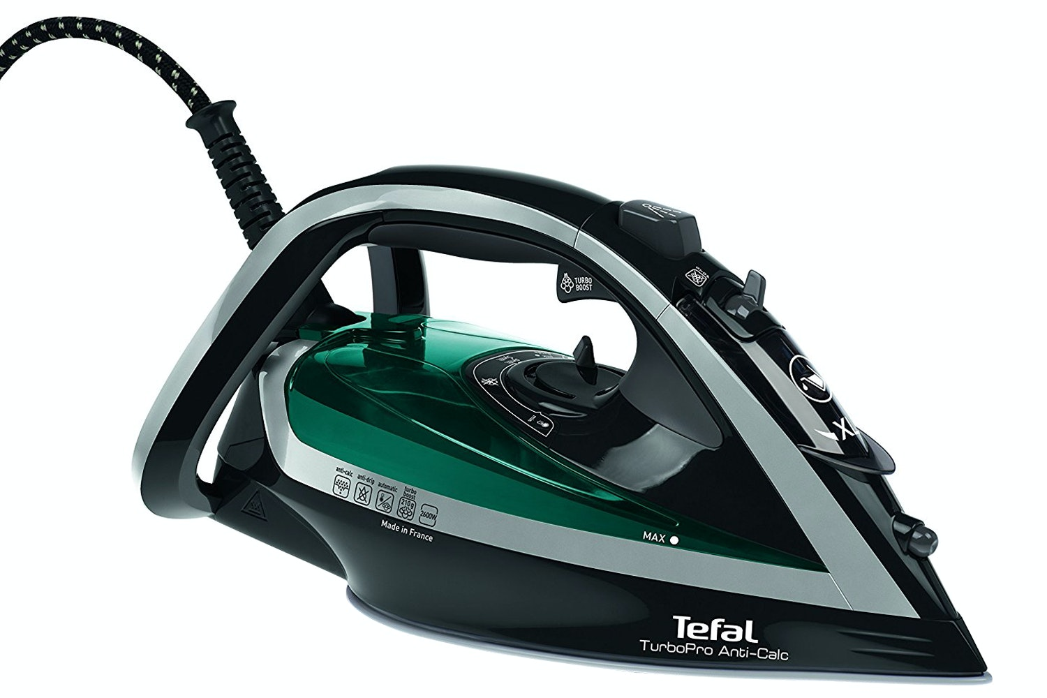 Tefal Turbo Pro Anti Scale Steam Iron | FV5640G0