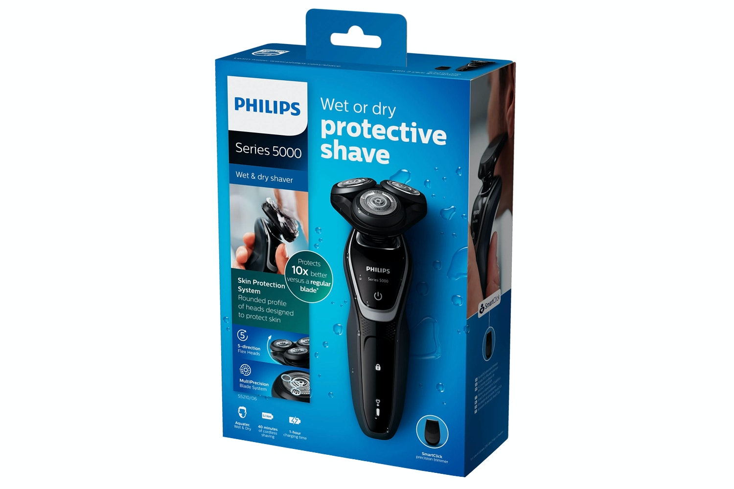 Philips Series 5000 Wet and Dry Men's Electric Shaver | S5210/06