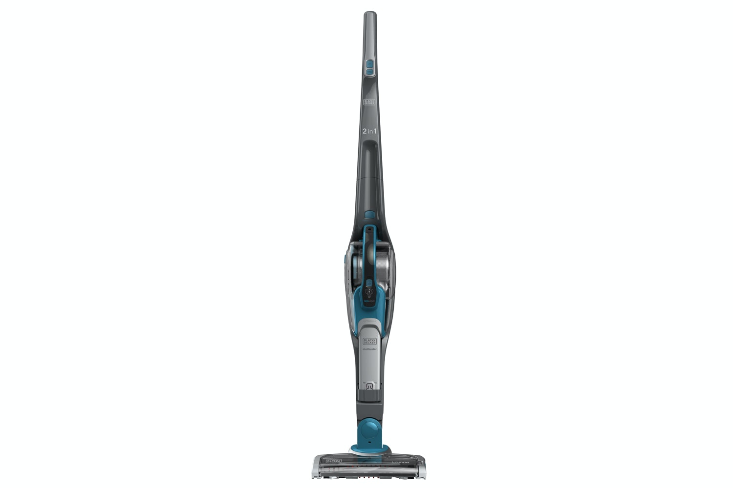 Black & Decker 2-in-1 Cordless Vacuum with Smart Tech Sensor | SVJ520BFS-GB