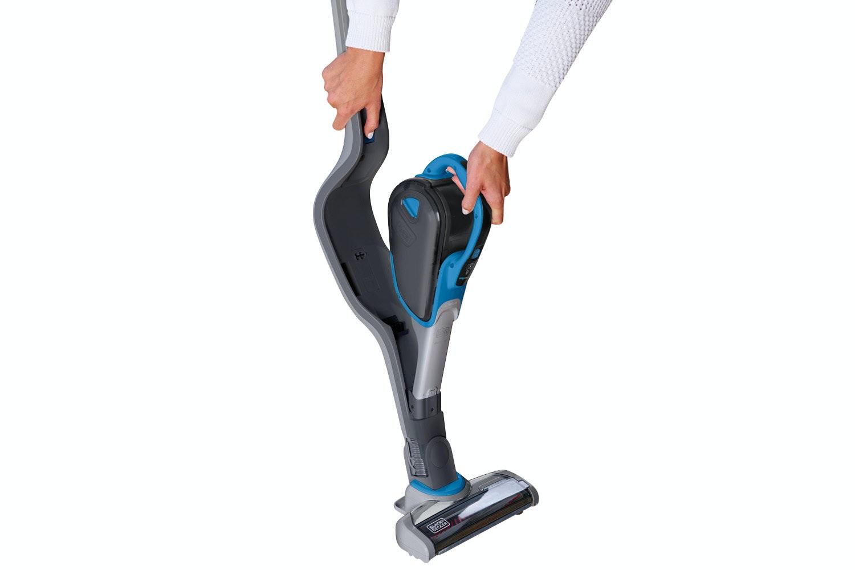 Black & Decker 2-in-1 Cordless Vacuum with Smart Tech Sensor | SVJ520BFS-GB