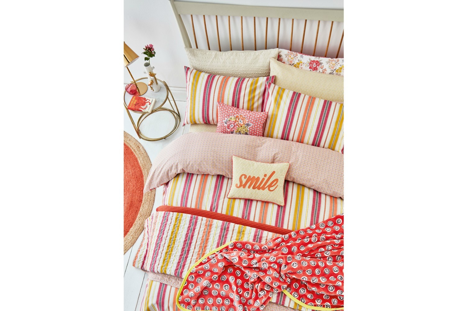 Melody Cover Set   Coral   Single