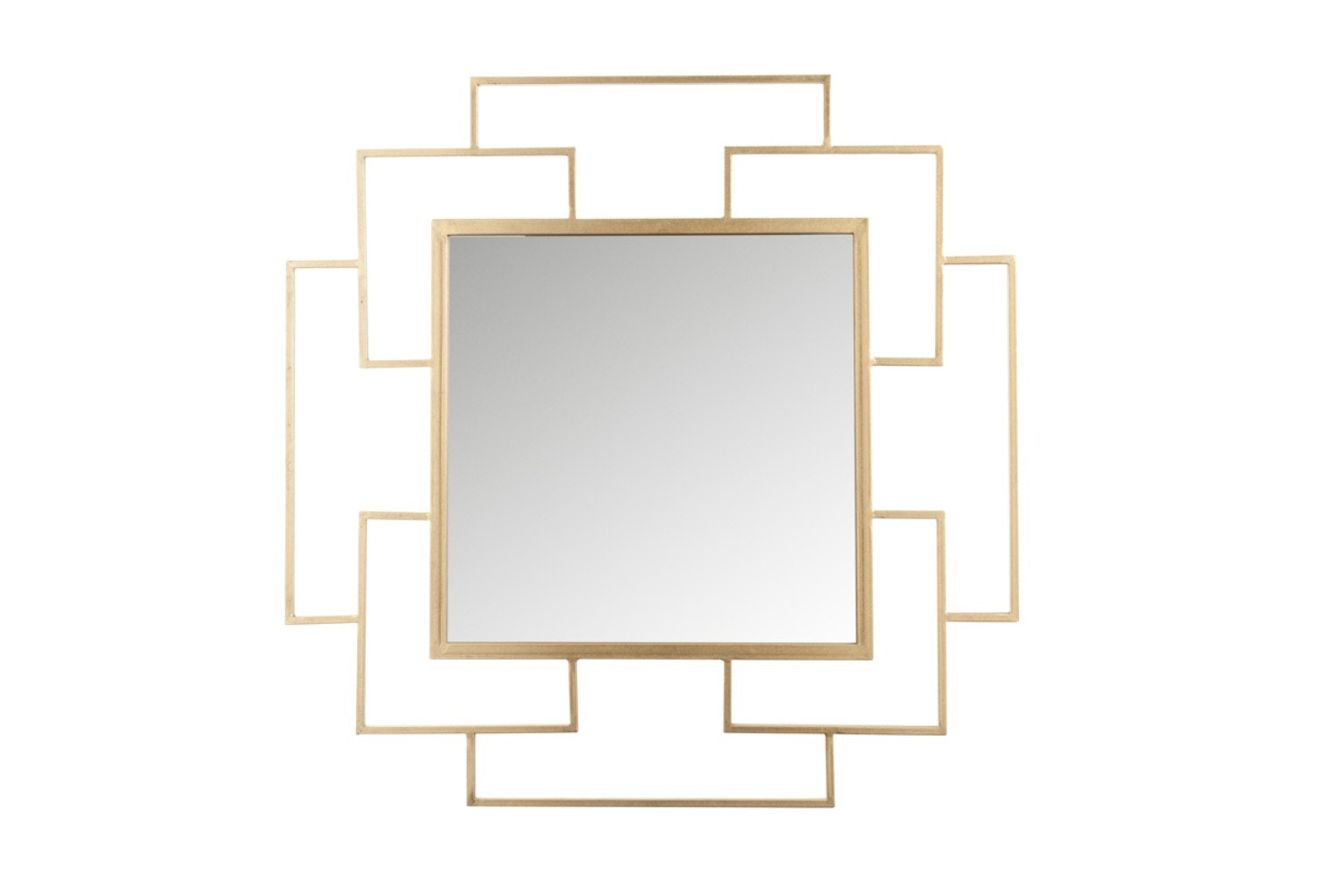Mirror Square Gold