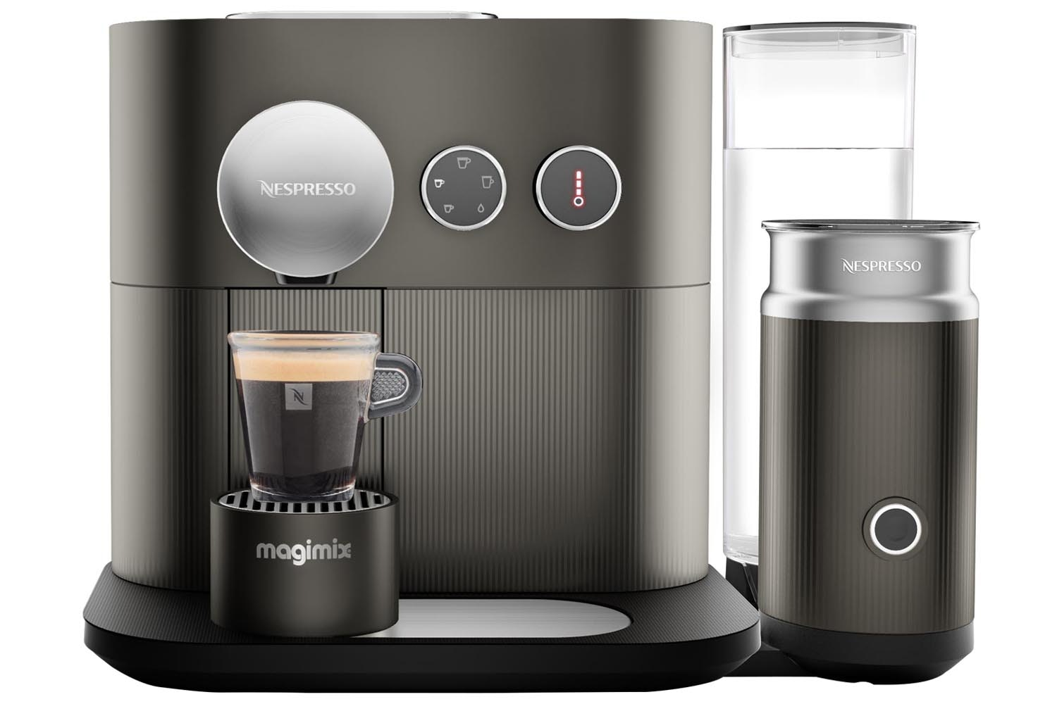 Magimix Nespresso Expert M500 Coffee Machine | 11380 |  Grey