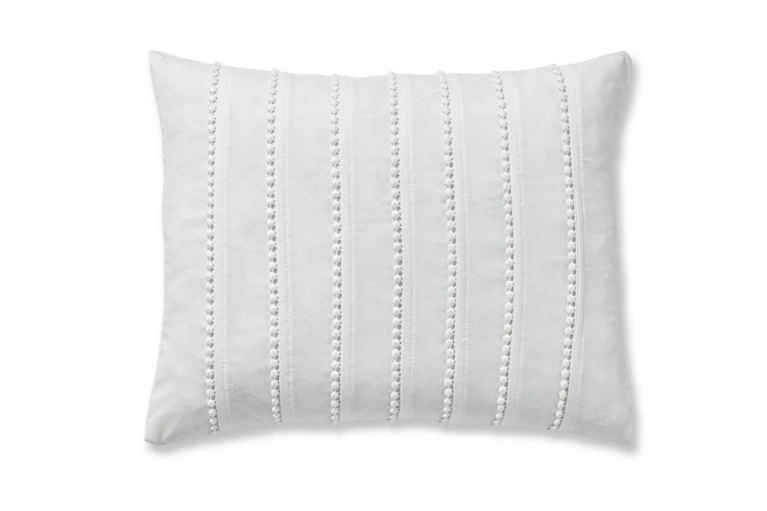 Pom Pom White Cushion