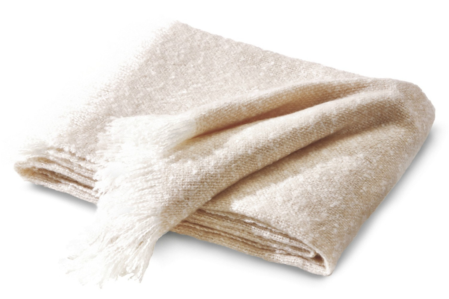 Soft Impression Boucle Throw | Rose