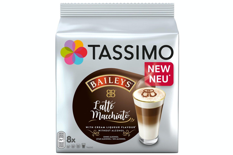 Tassimo Baileys Latte Macchiato Coffee Capsules