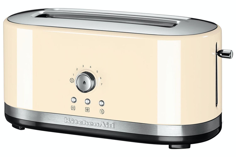 KitchenAid® 4 Slice Toaster | 5KMT4116BAC | Almond Cream