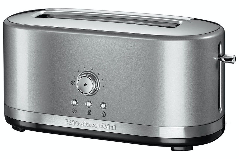KitchenAid® 4 Slice Toaster | 5KMT4116BCU | Contour Silver