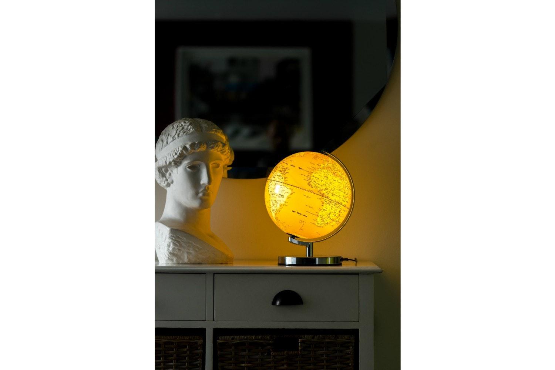 Lamp Globe Mustard