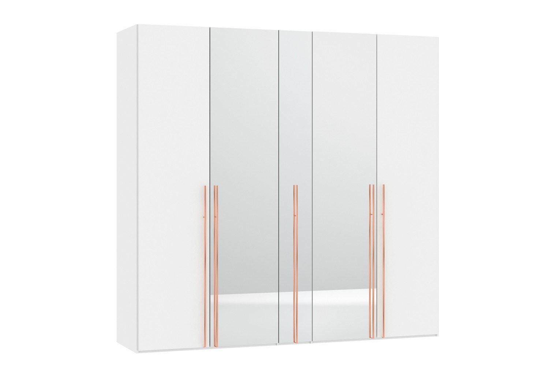 Sydney Wardrobe 5 Folding Doors | Elm & Mirror