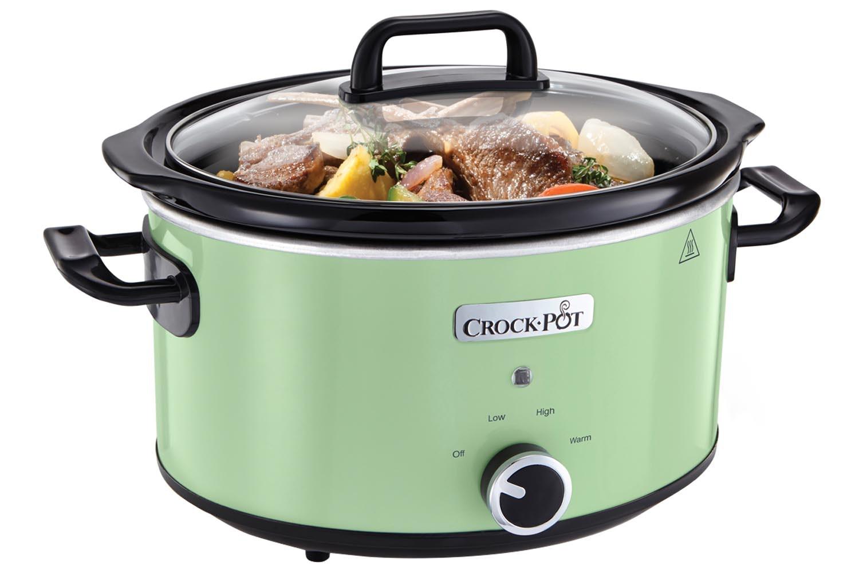 Crock-Pot CSC022 3.5L Slow Cooker | Thyme Green