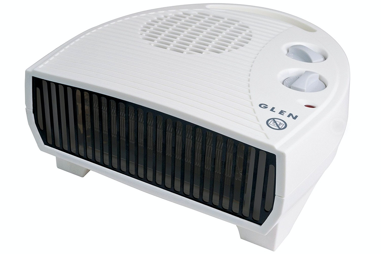 Glen 3kW Electric Flat Fan Heater | GF30TSN