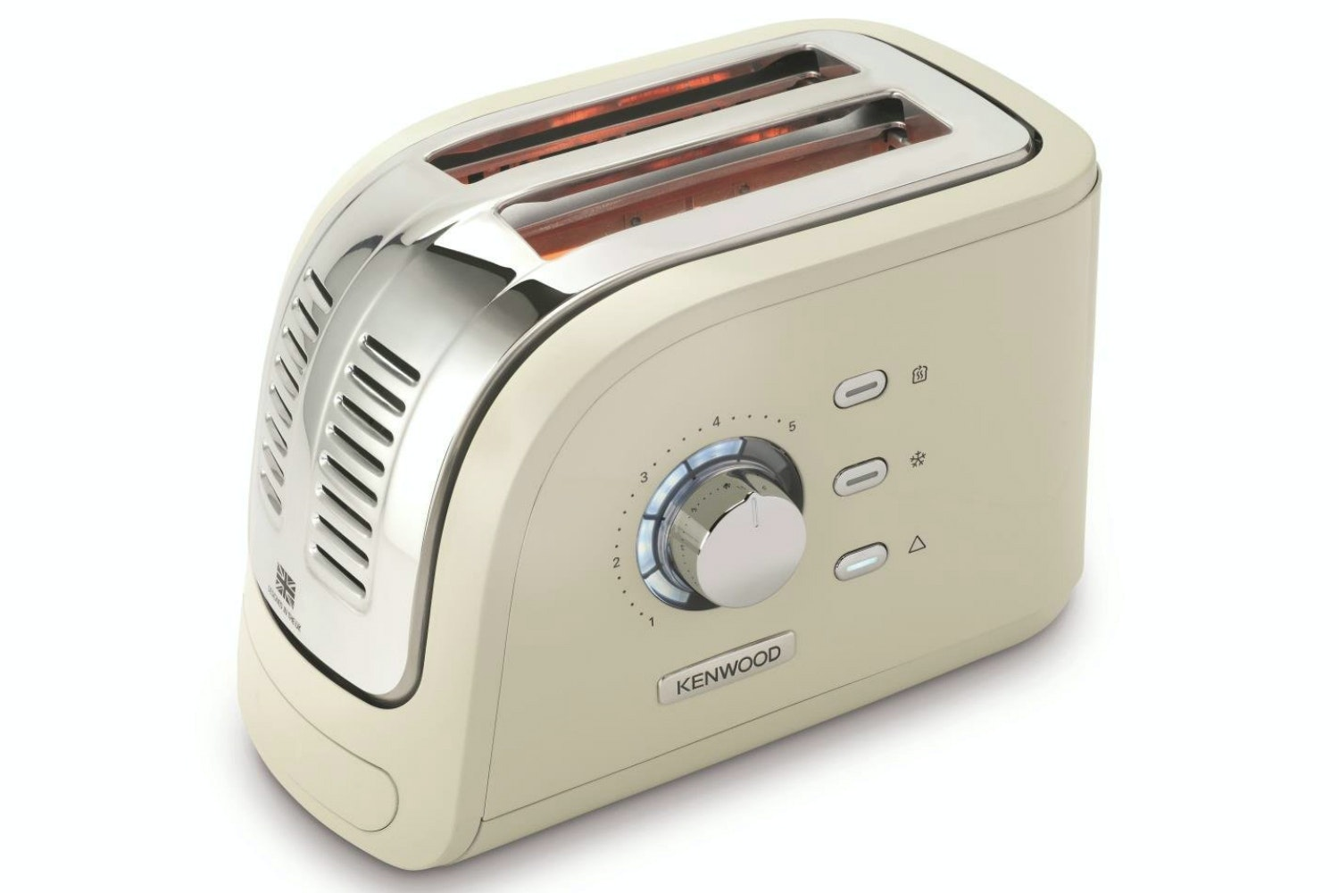 Kenwood Turbo 2 Slice Toaster | Cream