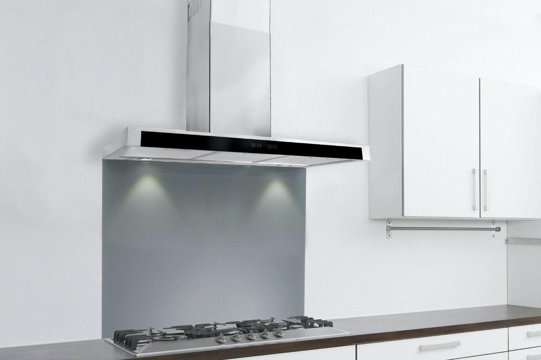 Luxair 80cm Slim Cooker Hood with Glass | LA80FSLSS