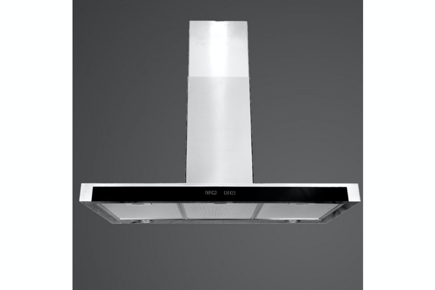 Luxair 80cm Slim Cooker Hood with Glass | LA80FSLSS
