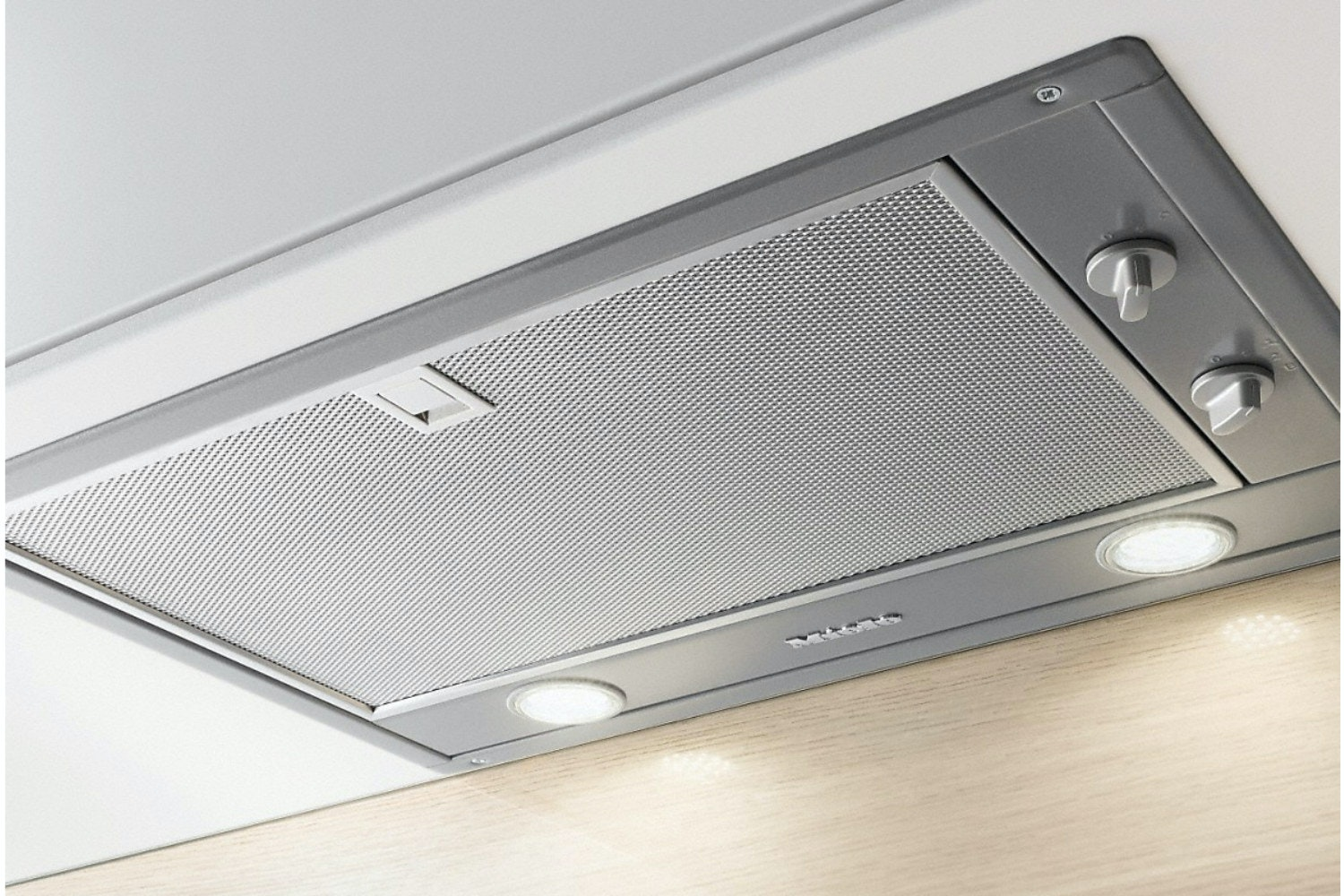 Miele DA 2450  Extractor unit   with energy-efficient LED lighting and rotary dials for easy use