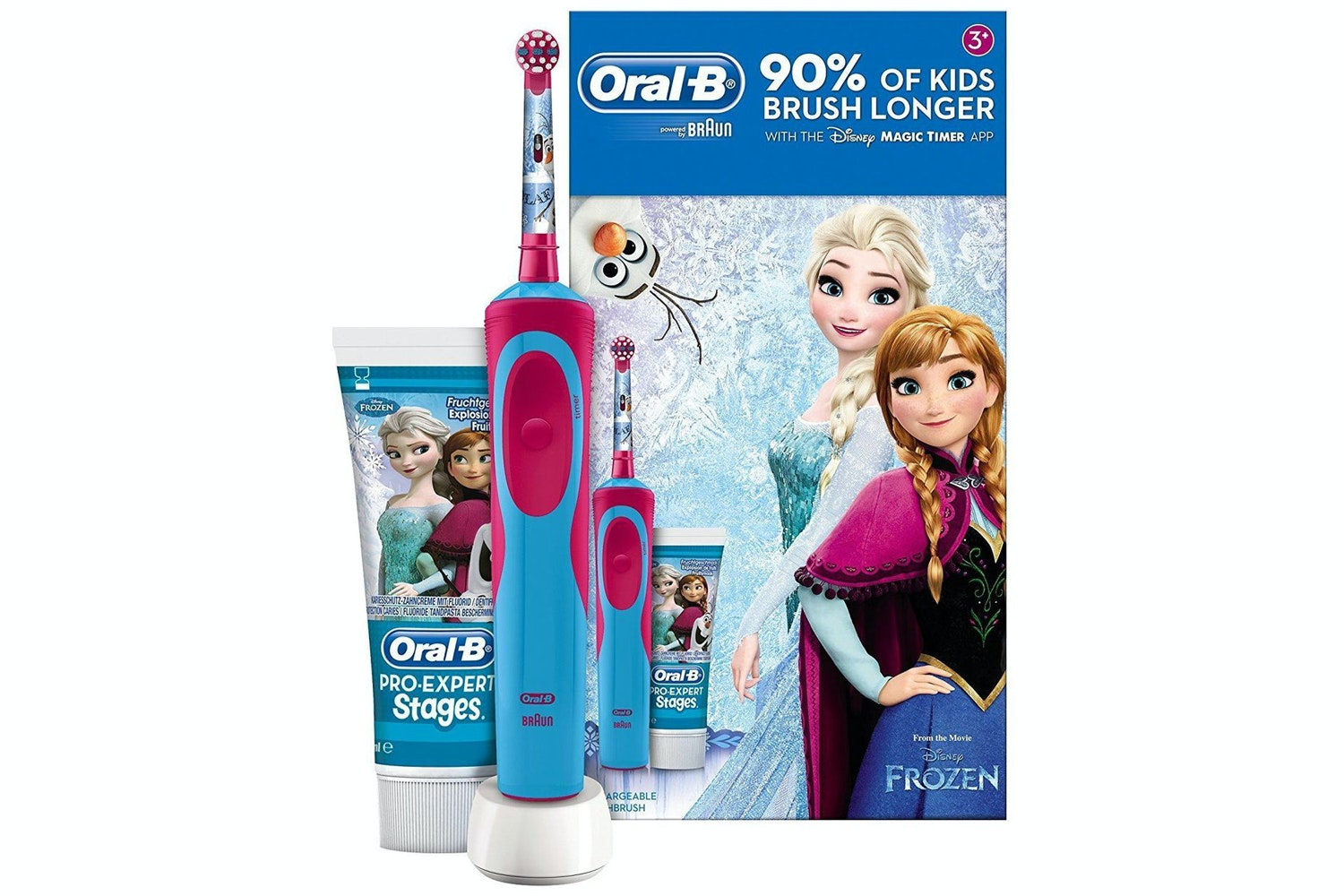 Oral-B Disney Frozen Kids Electric Toothbrush | OB4210201174653