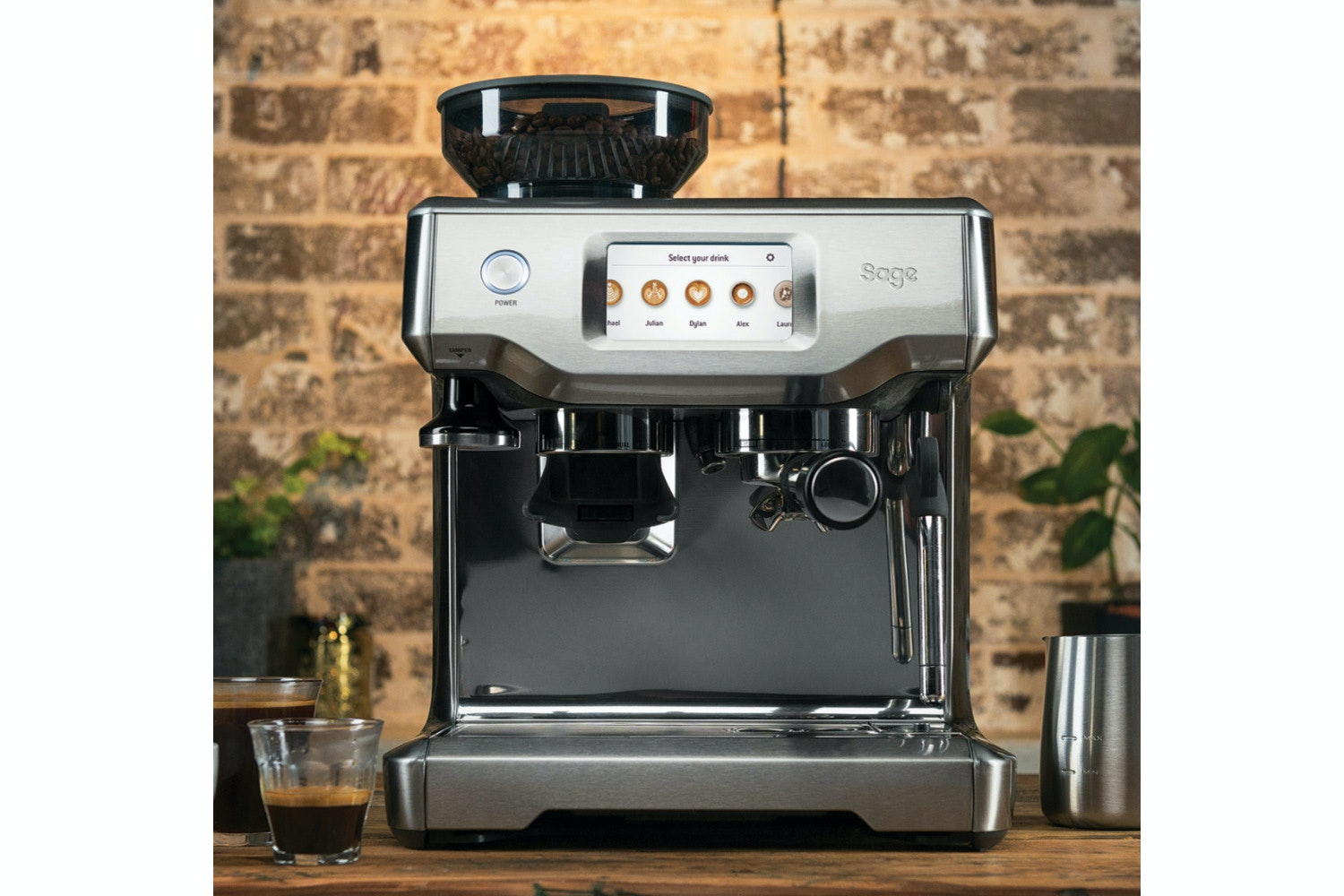 Sage Barista Touch   SES880   Stainless Steel