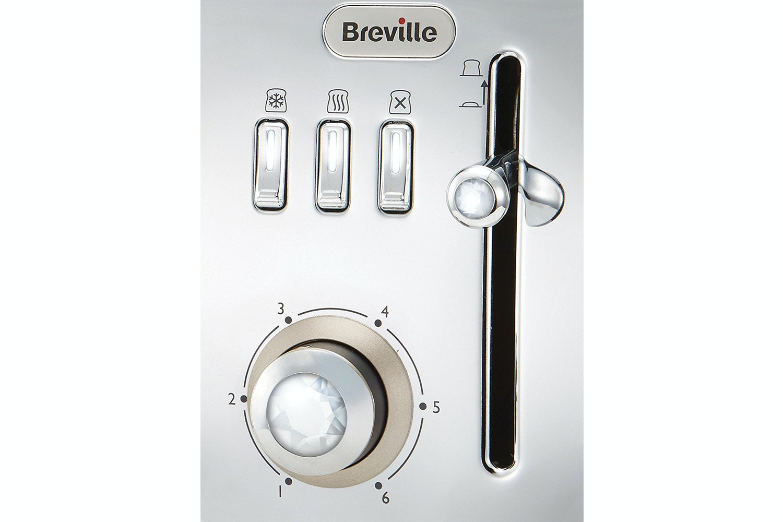 Breville Strata Luminere 2 Slice Toaster | VTT847 | Platinum