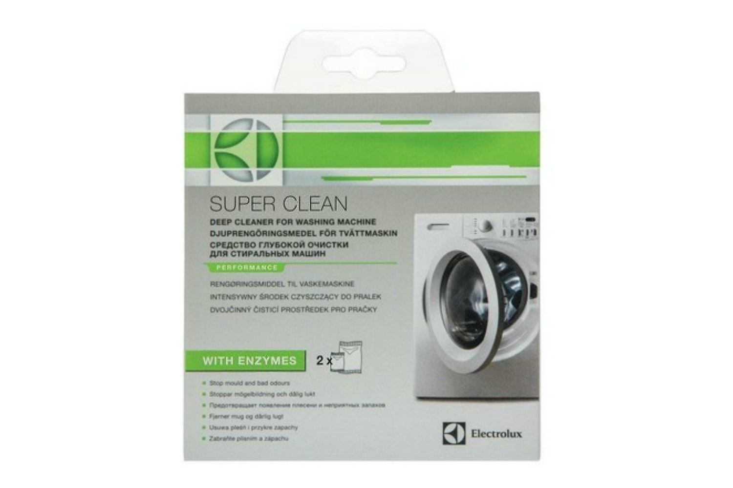 Electrolux Super Clean Washing Machine Cleaner | 9029792786