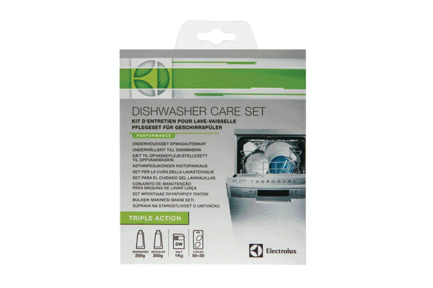 Electrolux Dishwasher Care and Maintenance Kit | 9029794576