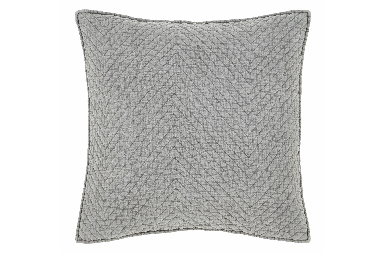 Stonewash Diagonal Cushion | Grey