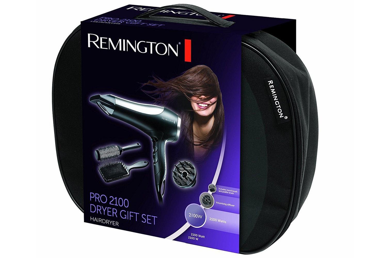 Remington Pro 2100 Hair Dryer Gift Set   D5017