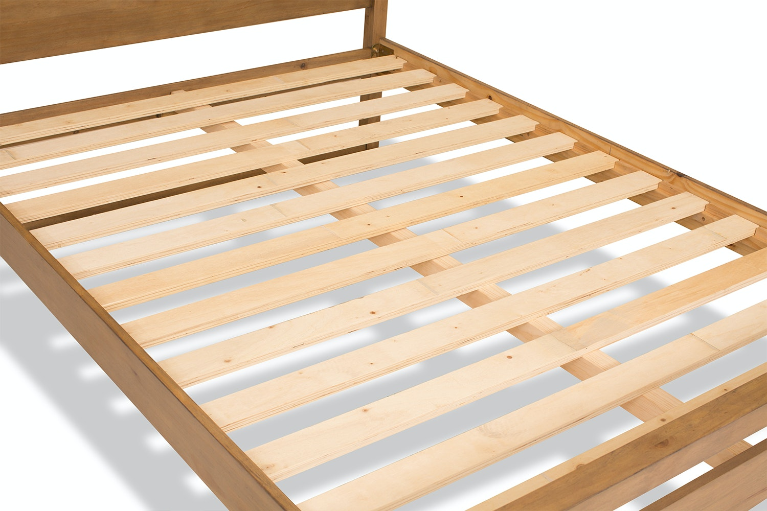 Zayden Bedframe | 4Ft6 | Latte