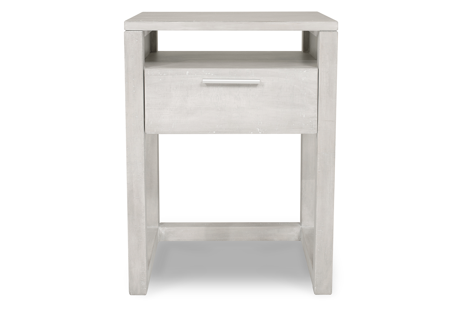 Zayden Bedside 1 Drawer | Pacific Grey
