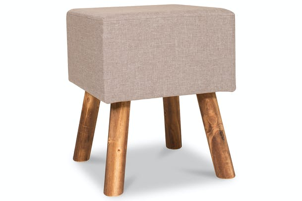 Tidy Footstool | Square | Grey