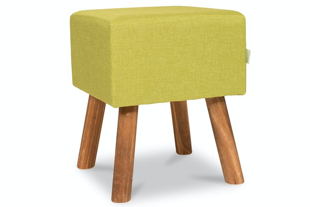 Tidy Footstool Square | Green
