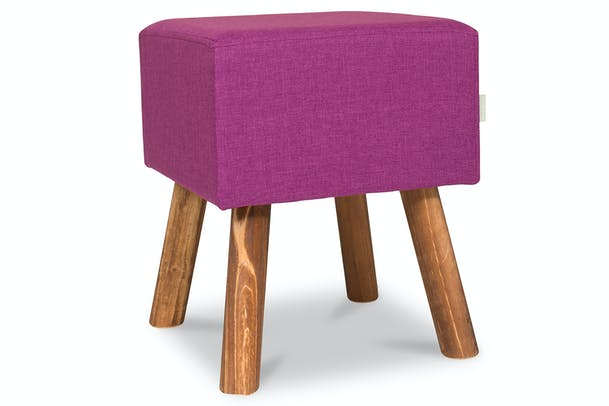 Tidy Footstool Square | Purple