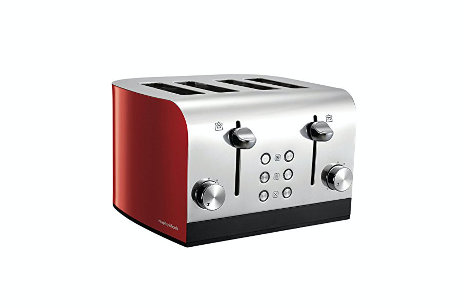 Morphy Richards Equip 4 Slice Toaster | Red