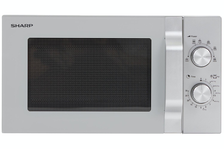 Sharp 20L Solo Microwave | R204SLM | Silver