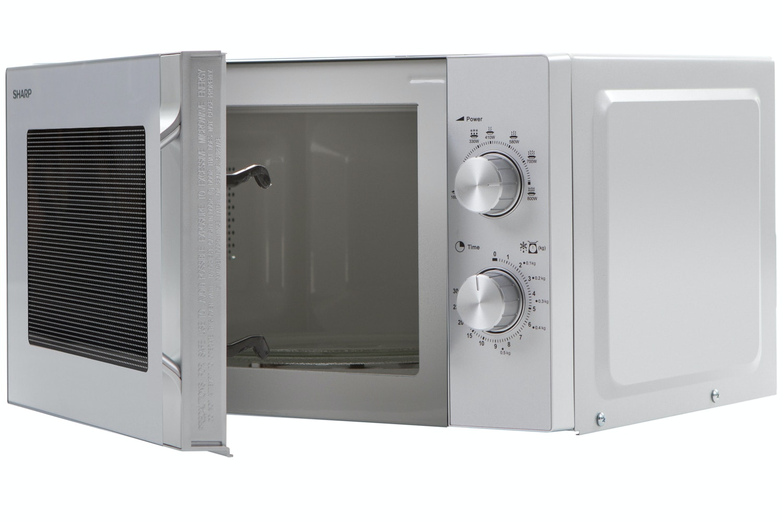 Sharp 20L Solo Microwave   R204SLM   Silver
